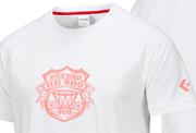 アメリカのバスケットボールシルエットを取り入れた2WAYプリントTシャツ&プラクティスパンツ発売!